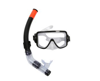 Mask and Snorkel Set Youth Black